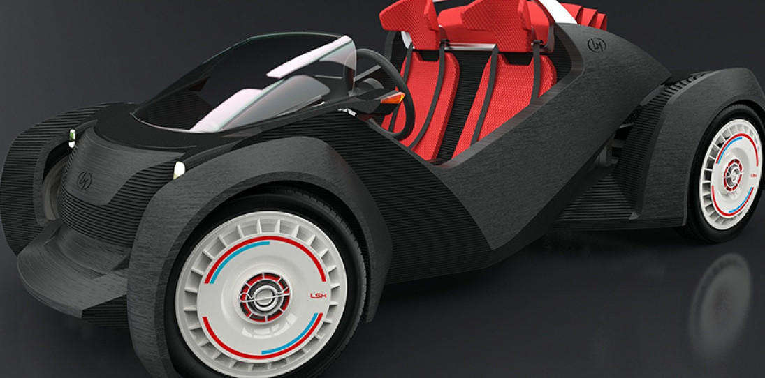 Local Motors Strati 3D Printed Car 1