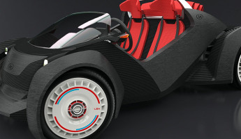 Local Motors Strati 3D Printed Car 1 345x200 Local Motors 3D Printed Car Could Revolutionize Manufacturing