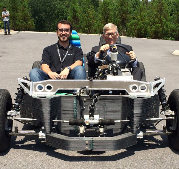 Local Motors Strati 3D Printed Car 3 600x565 Local Motors 3D Printed Car Could Revolutionize Manufacturing