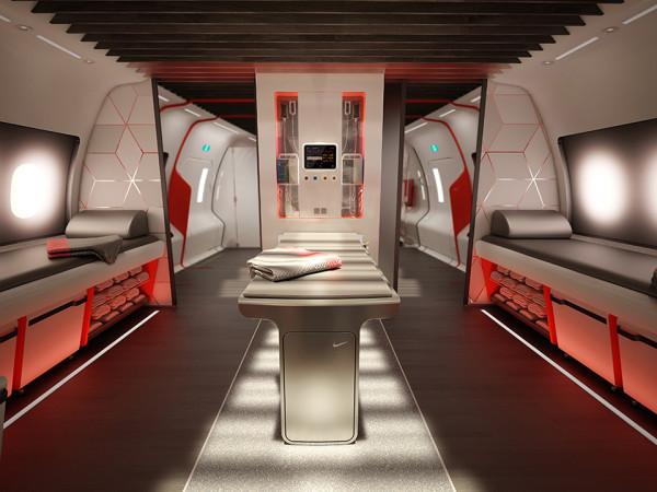 Nike Sky High Plane Training Facility 5 600x450 Nike Creates an Airplane Training Facility for High Flying Athletes