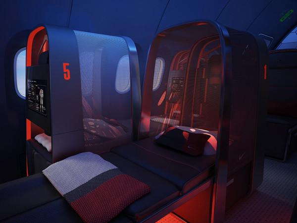 Nike Sky High Plane Training Facility 7 600x450 Nike Creates an Airplane Training Facility for High Flying Athletes