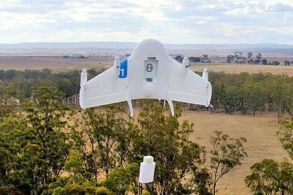Project Wing Delivery In Process 600x400 Google Project Wing Brings Drone Delivery to Rural Environments