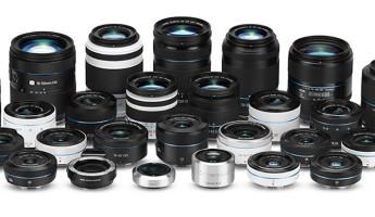 Samsung NX1 DSLR - Lenses