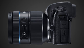 Samsung NX1 Smart Camera Lens View