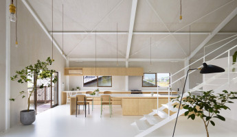 Airhouse Design Office Turn an Old Warehouse Into a Modern Family Home