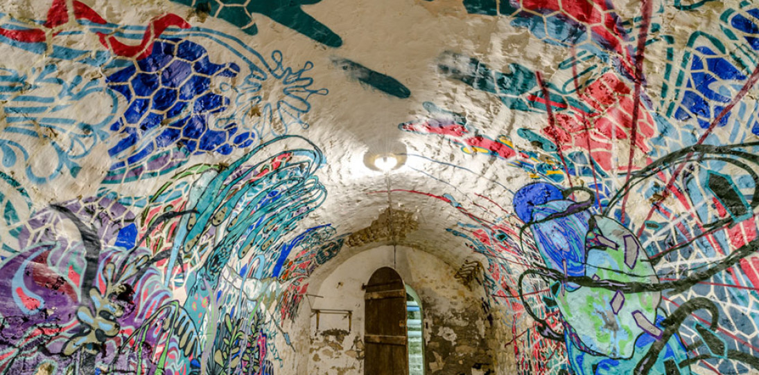 Installation Art in Ancient Architecture by Herbert Baglione hero