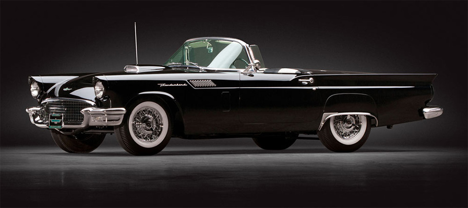 1957 Ford Thunderbird F Code