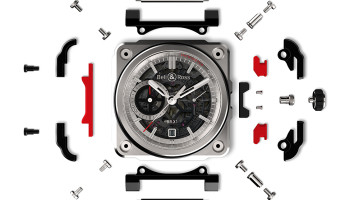Bell and Ross BR-X1 Watch exploded view