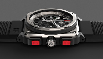 Bell and Ross BR-X1 Watch side angle