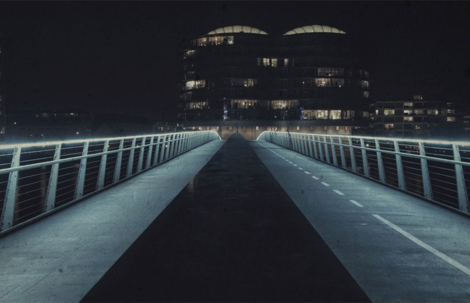 Copenhagen Bike Highway by Bo Nielsen