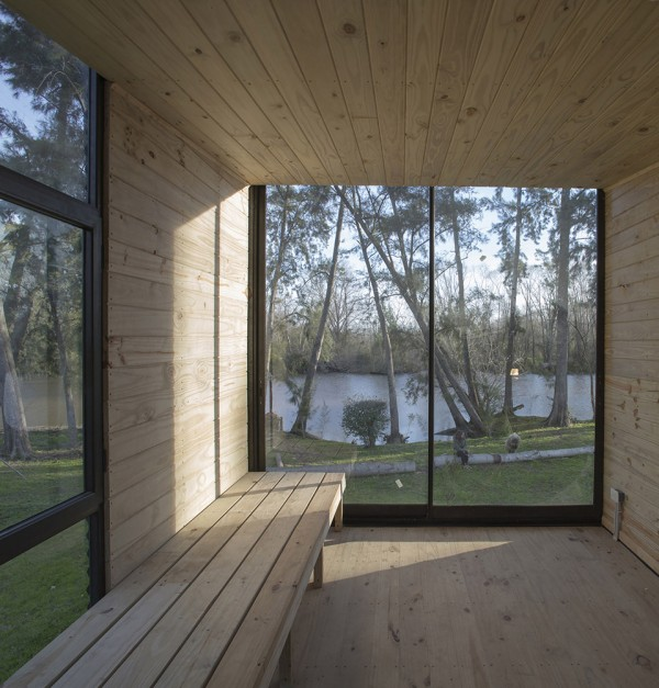 Delta Cabin by AToT 3 600x627 Delta Cabin by AToT is a Towering Tiny House