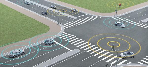 Future of Transportation: V2X Traffic Network System
