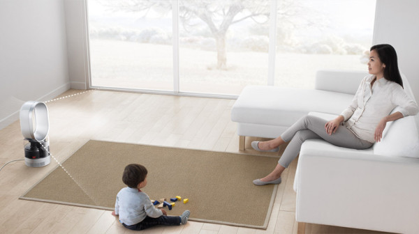 Dyson Humidifier 2 600x336 Dyson Humidifier Can Keep A Whole Room Comfortable   And Clean