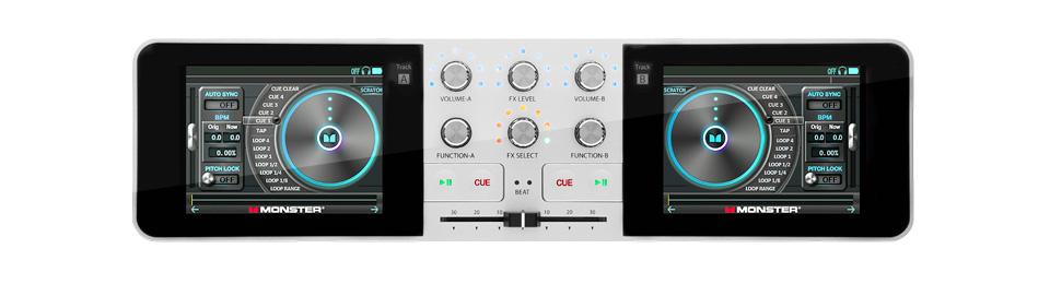 Monster Go DJ Portable Music Mixer 4