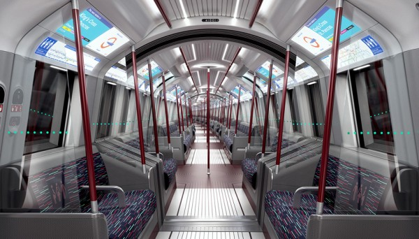 New Tube for London Trains by PriestmanGoode 7 600x342 New Tube for London Trains are a $4 Billion Driverless Upgrade