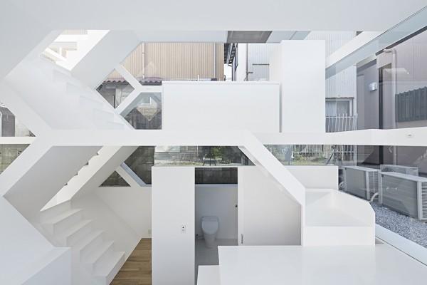 S House by Yuusuke Karasawa Architects 6 600x400 S House by Yuusuke Karasawa Architects