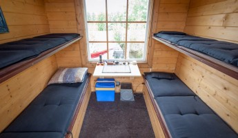 Saunalautta Floating Sauna Houseboat 10