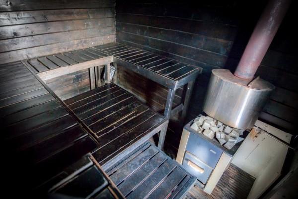 Saunalautta Floating Sauna Houseboat 3 600x401 Saunalautta Floating Sauna Houseboat is a Cruise Worthy Campsite