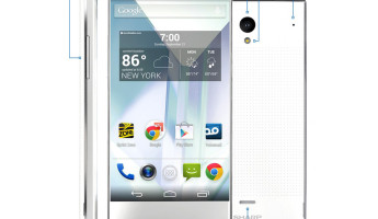 Sharp Aquos Crystal Smartphone is an Edgeless Beauty