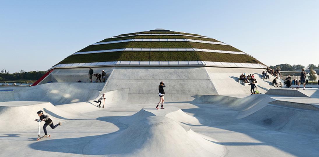 StreetDome Skate Park Denmark 1