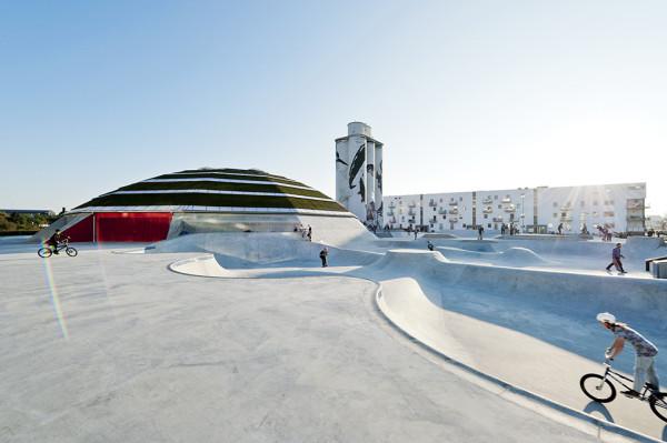 StreetDome Skate Park Denmark 4 600x399 StreetDome Skate Park Denmark