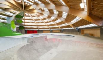 StreetDome Skate Park Denmark 5
