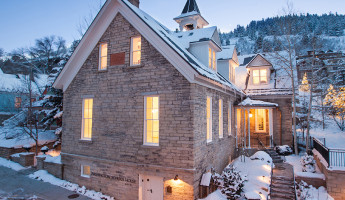 Washington School House Boutique Hotel - Park City Utah (2)