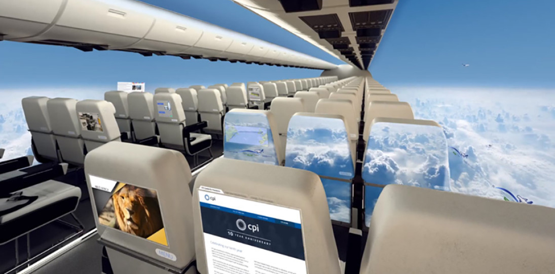 Windowless Planes of the Future 1