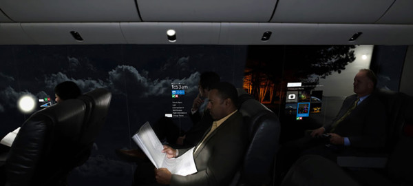 Windowless Planes of the Future 6 600x270 CPIs Windowless Planes of the Future Are Not for the Faint of Heart