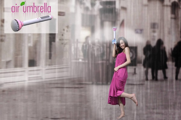air umbrella 3 600x400 The Air Umbrella: Could This Be the Umbrella of the Future?
