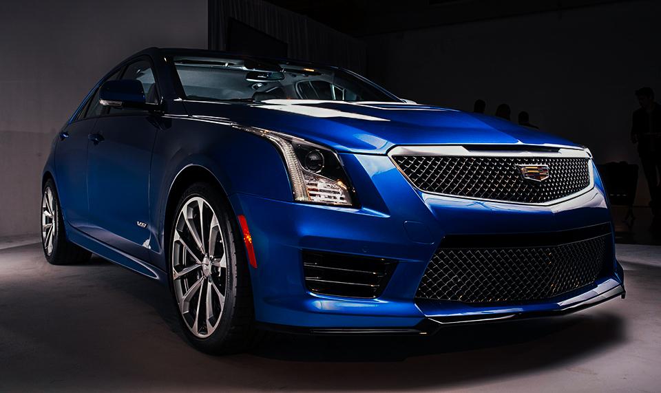 2016 Cadillac ATS V Angle Seamus Payne Composite 960 Copy 2016 Cadillac ATS V: Historys Fastest Cadillac Storms Hollywood