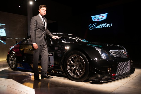 Designer Andrew Smith and the Cadillac Racecar