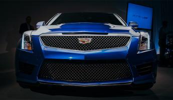 2016 Cadillac ATS-V Front End