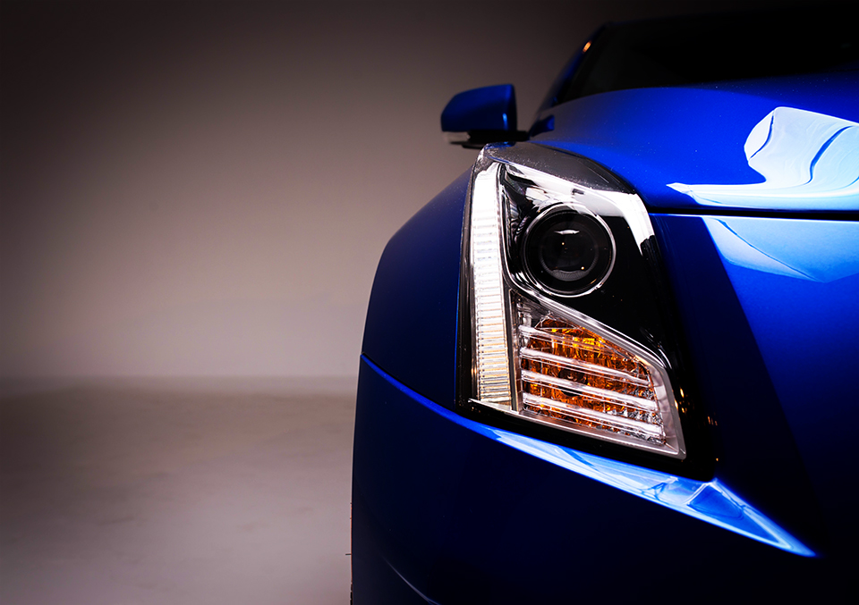 2016 Cadillac ATS-V Headlight