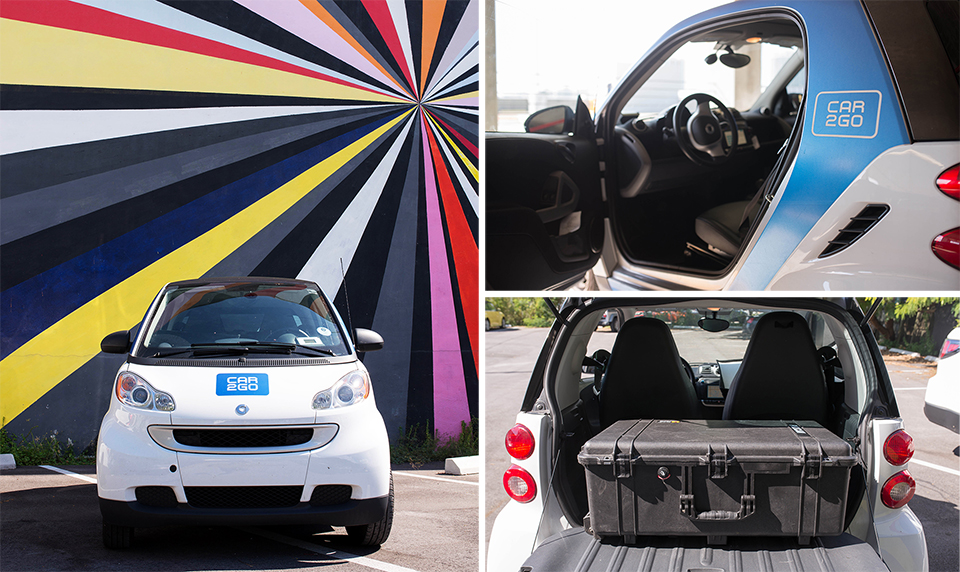 Car2Go Loading Collage