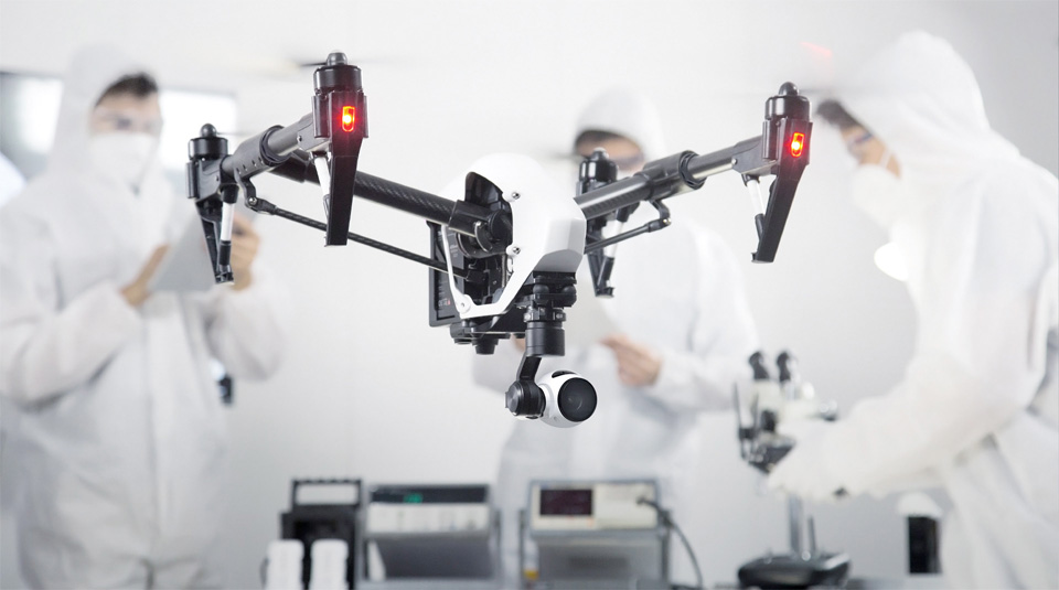 DJI Inspire 1 Video Drone 4