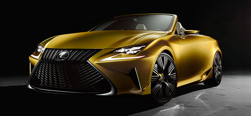 Lexus LF-C2 Convertible Concept 1