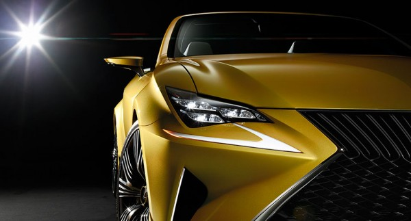 Lexus LF C2 Convertible Concept 3 600x323 Lexus LF C2 Convertible Concept Goes for the Gold