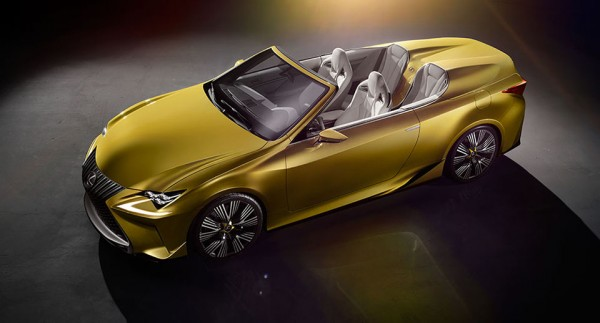 Lexus LF-C2 Convertible Concept 4