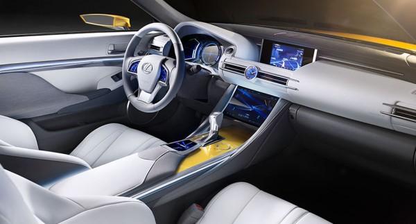 Lexus LF-C2 Convertible Concept 5