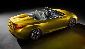 Lexus LF-C2 Convertible Concept 6