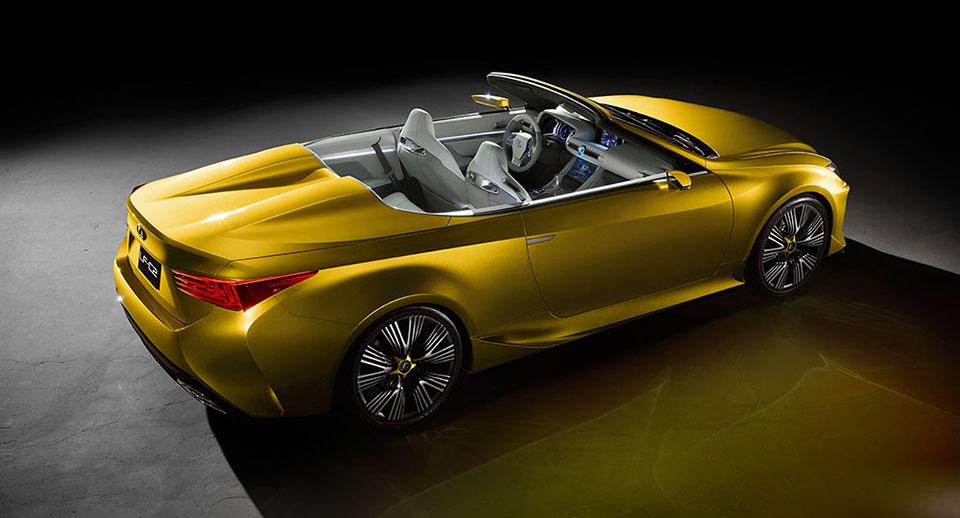 Lexus LF-C2 Convertible Concept 7