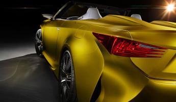 Lexus LF-C2 Convertible Concept 8