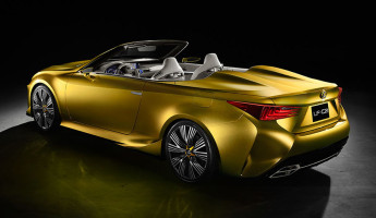 Lexus LF-C2 Convertible Concept 9