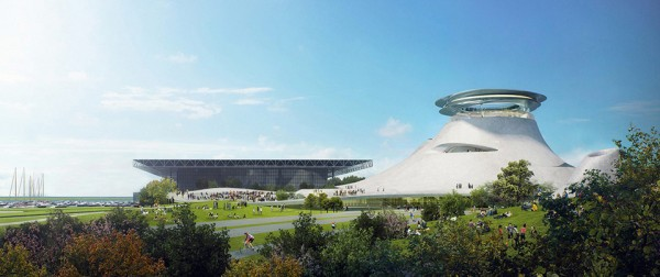 Lucas Museum Chicago 2 600x252 The Lucas Museum Chicago Finally Revealed for Star Wars Fans