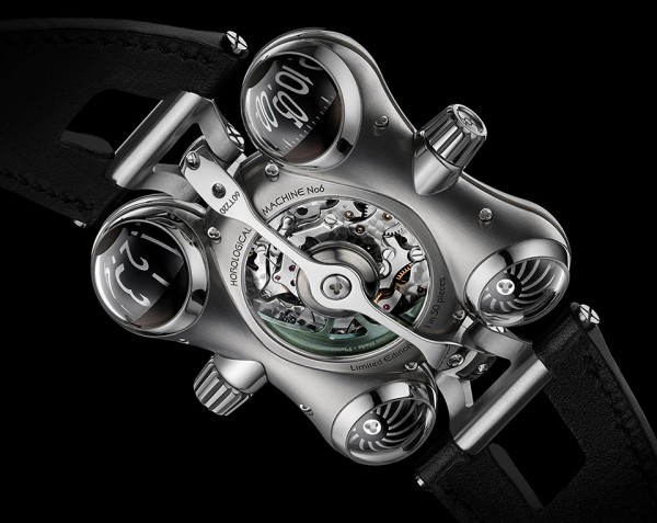 MBF HM6 Space Pirate Watch 3 600x477 MB&F HM6 Space Pirate Watch