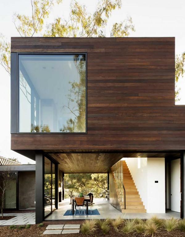 Oak Pass Guest House by Walker Workshop 7 600x766 Oak Pass Guest House by Walker Workshop