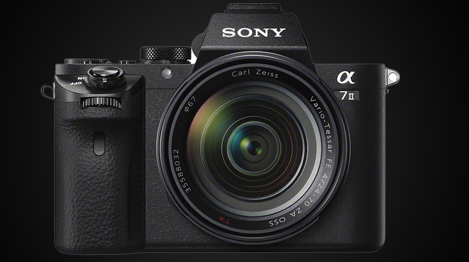 Sony a7ii full frame mirrorless camera for New camera 2015