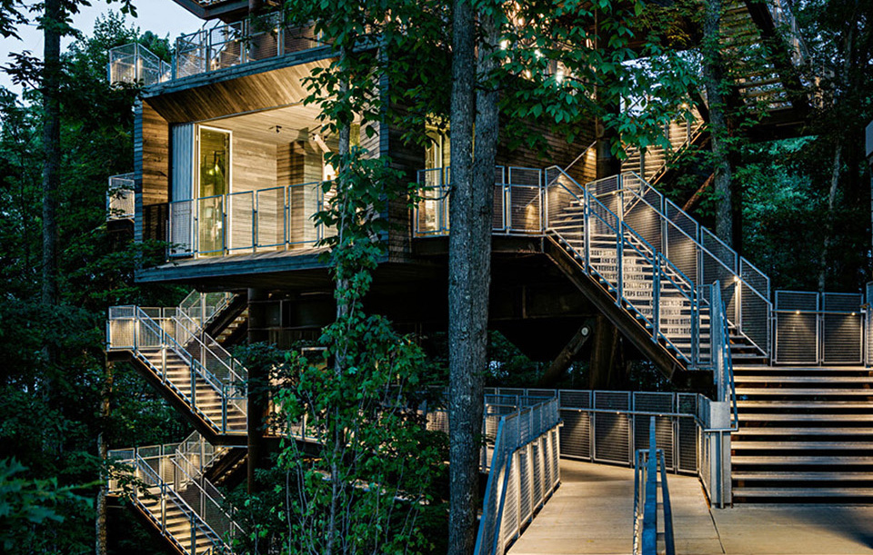 The Sustainability Treehouse Photo by Joe Fletcher wide Nature Architecture 2014: 10 Select Cabins, Treehouses and Hideaways Around the World