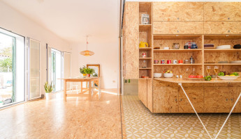 Tiny Transforming Apartment by PKMN Architectures 1